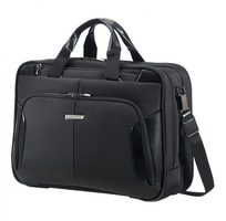 "Samsonite XBR BAILHANDLE 3C EXP 15.6"" / Brašna na notebook a tablet / černá"