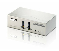 ATEN Matrix video switch / 2x PC - 2x Monitor
