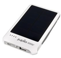 JUPIO PowerVault Solar 5000 / Powerbank / 5000mAh / bílá