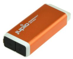 JUPIO powerbank Heat 6000mAh / 1xUSB / 103x42x22mm / oranžový