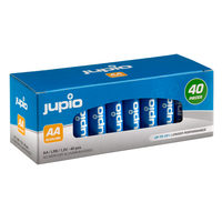 JUPIO Alkaline AA Value Box - 40ks / alkalické baterie