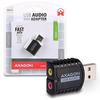 AXAGON MINI adaptér stereo audio / USB2.0
