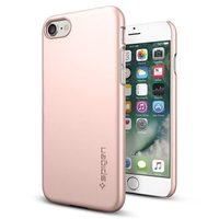 Spigen Thin Fit Rose Gold / ultra tenký kryt pro Apple iPhone 7 / růžovo-zlatá