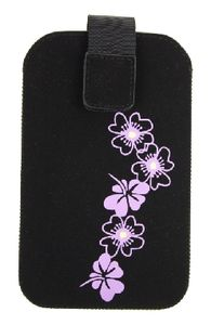 Pouzdro FRESH HTC HD2 BLOSSOM black (125x80x15mm)