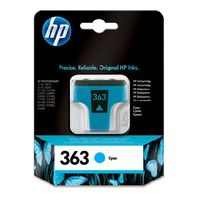 HP C8771EE Ink Cart No.363 pro PS 8250, 4ml, Cyan