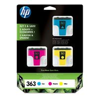 CB333EE No. 363 3-Ink pack (cyan, magenta, yellow), pro PS 8250