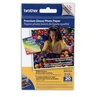 Brother - fotopapíry premium BP61GLP 10x15  20 ks