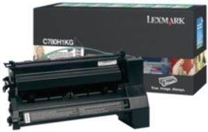 Lexmark C780/C782 6K Black Return Cartridge