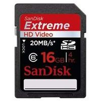 SanDisk SDHC karta Extreme HD Video 16GB Class 6