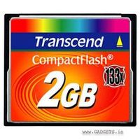 Transcend Compact Flash karta 133x 2GB
