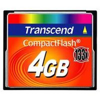 Transcend Compact Flash karta 133x 4GB