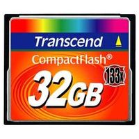 Transcend Compact Flash karta 133x 32GB