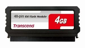 Transcend IDE FLASH modul 4GB 40pin Vertical Low-Profile