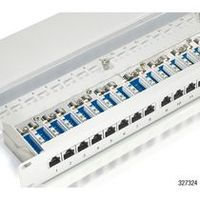 UTP STP Patchpanel / equip / cat.5e / 16-port