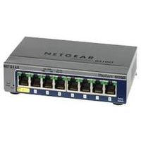 NETGEAR ProSafe GS108T / Switch / 8-port 10/100/1000 Mbps