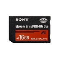 Sony MSHX16B Memory Stick PRO-HX Duo 16 GB, 50MB/s (240Mbps)* Read/Write
