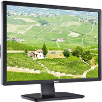 "24"" DELL U2412M UltraSharp černá / LED / 1920x1200 / IPS / 16:10 / 8ms / 1000:1 / 300cd-m2 / VGA+DVI+DP / 3YNBD"