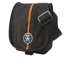 Crumpler PRETTY BOY 140 (XXXS) - dull black/orange