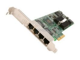 INTEL Gigabit ET Quad Port Server Adapter bulk - Copper PCIe, support VMDq, Ipsec and Linksec