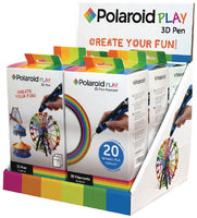 Polaroid display 3D 3 x pen + 3 x filament / 3D pero / PLA / USB