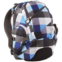 Chiemsee Techpack checking black / batoh / 24 l