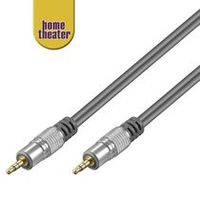 Home Theater HQ Kabel Jack 3,5mm - Jack 3,5mm stereo, M/M, 2.5m