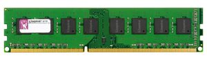Kingston 8GB (1x 8GB) DDR3 1333MHz / CL9 / DIMM / Non-ECC / Un-Registered