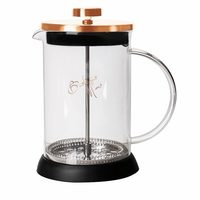 Berlingerhaus Konvička na čaj a kávu French Press 350 ml Rosegold collection