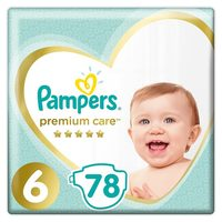 Pampers Premium Care Extra Large (78 ks) / Pleny / Velikost 6 (13+ kg)