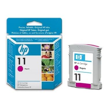 HP C4837A Ink Cart No.11  pro BI 2200,2250,CP1700,28ml, Magenta