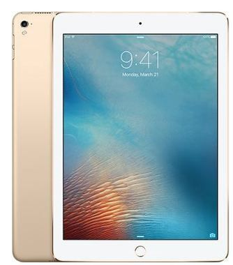 "Apple iPad Pro 32GB WiFi + Cellular Gold / 9.7""/ 2048x1536 / WiFi + LTE / 9h výdrž / 2x kamera / iOS9.3 / Zlatý"