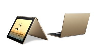 "Lenovo Yoga Book LTE Gold / 10.1"" WUXGA IPS / 1920x1200 / Quad-Core 1.44GHz / 64GB / 4GB RAM / Android 6.0 / zlatá"