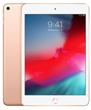 "Apple iPad mini (2019) Wi-Fi 256GB zlatá / 7.9""/ 2048x1536 / WiFi / 8MP+7MP / iOS 12"