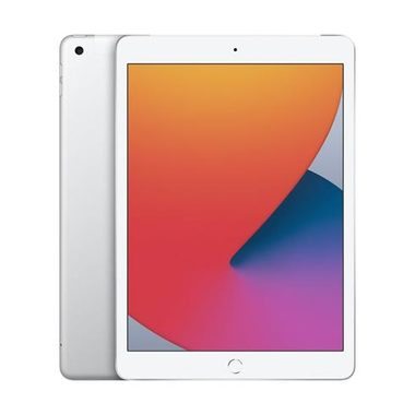 "Apple iPad 10.2"" (2020) Wi-Fi + Cellular 128GB stříbrná / 2160x1620 / WiFi / LTE / 8MP+1.2MP / iPadOS 14"