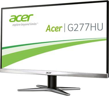 "LCD Monitor 27"" Acer G277HUsmidp / WQHD TN LED / 2560x1440 / 1ms / DVI / HDMI / DP"