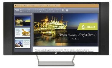 "LCD Monitor 27"" HP EliteDisplay S270c / VA / 1920 × 1080 / 8ms / 16:9 / 3000:1 / 300cd-m2 / VGA+HDMI+MHL / Repro / černá"