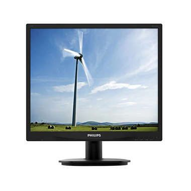 "LCD Monitor 19"" PHILIPS 19S4QAB-00 / WLED / 1280 x 1024 / IPS-ADS / 5:4 / 14ms / 1000:1 / 250cd/m2 / VGA+ DVI / Repro / Černý"