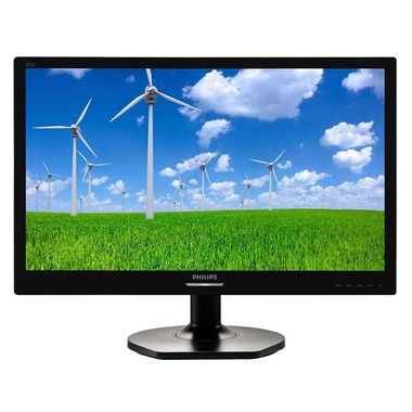 "LCD Monitor 21.5"" PHILIPS 221S6QSB/00 / 1920x1080 / IPS LED / 16:9 / 14ms / 20M:1 / 250cd-m2 / VGA+DVI / černá"