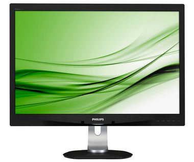"LCD Monitor 24"" PHILIPS 240B4QPYEB-00 / LED / 1920 x 1200  / 16:10 / 15ms / 20mil:1 / 250cd-m2 / DVI+VGA+DP / USB / Repro / černá"