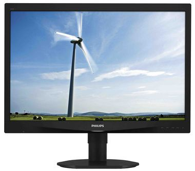 "LCD Monitor 24"" PHILIPS 240S4QMB-00 / LED / 1920 x 1200  / 16:10 / 15ms / 20mil:1 / 250cd-m2 / DVI+VGA / Repro / černá"