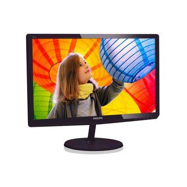 "LCD Monitor 23.6"" PHILIPS 247E6QDAD/00 / LED / 1920 x 1080 / IPS / 16:9 / 14ms / 20mil:1 / 250cd-m2 / VGA+DVI+HDMI / Repro / Černý"