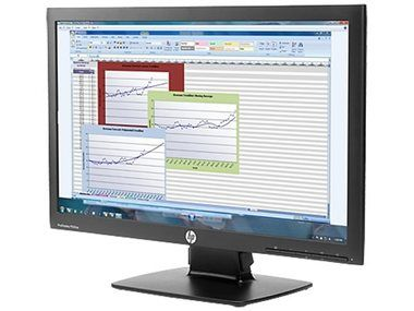 "LCD Monitor 21.5"" HP ProDisplay P222va / VA LED / 1920x1080 FHD / 3000:1 / 8ms / 250cd / VGA / DP / černá"