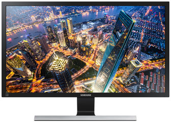 "LCD Monitor 28"" SAMSUNG LU28E590DS/EN / TN / 3 840 x 2 160 / 1ms / 370cd/m2 / DP+2xHDMI+Jack3.5mm"