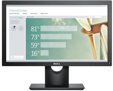 "LCD Monitor 18.5"" DELL E1916H /  LED / 16:9 / 1366x768 / 600:1 / 5ms / DP / černý / 3YNBD"