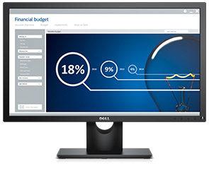 "LCD Monitor 23"" DELL E2316H / WLED / 16:9 / 1920x1080 / 1000:1 / 5ms / Full HD / DP / černý / 3YNBD"