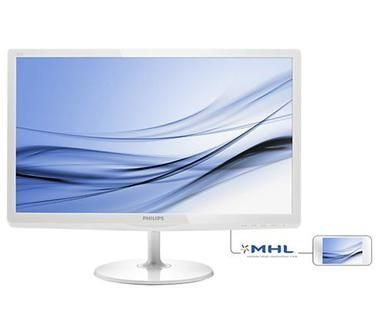 "LCD Monitor 23.6"" PHILIPS LCD 247E6EDAW / LED / IPS / 1920x1080 / 5ms / 20mil:1 / HDMI / MHL / repro / Bílý"