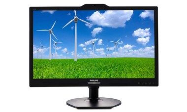 "LCD Monitor 21.5"" PHILIPS 221S6QYKMB / LED / 1920 x 1080 / AH-IPS / 16:9 / 5ms / 20mil:1 / 250cd-m2 / VGA / DVI-D / DP / Černý"