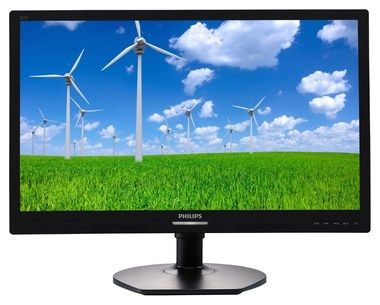 "LCD Monitor 21.5"" PHILIPS 221S6QYMB / LED / 1920 x 1080 / AH-IPS / 16:9 / 5ms / 20mil:1 / 250cd-m2 / VGA / DVI-D / DP / Černý"