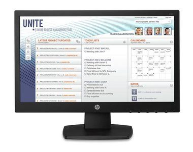 "LCD Monitor 18.5"" HP V197 / TN LED / 1366 x 768 / 16:9 / 5 ms / 600:1 / 200cd-m2 / VGA / DVI-D / Černý"