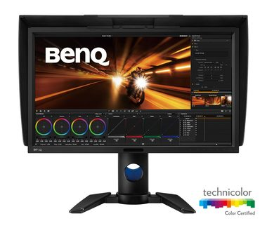 "LCD Monitor 27"" BenQ PV270 / LED / 2560 x 1440 / IPS / 16:9 / 5ms / 1000:1 / 250cd-m2 / DP / DVI / HDMI / VESA / černá"